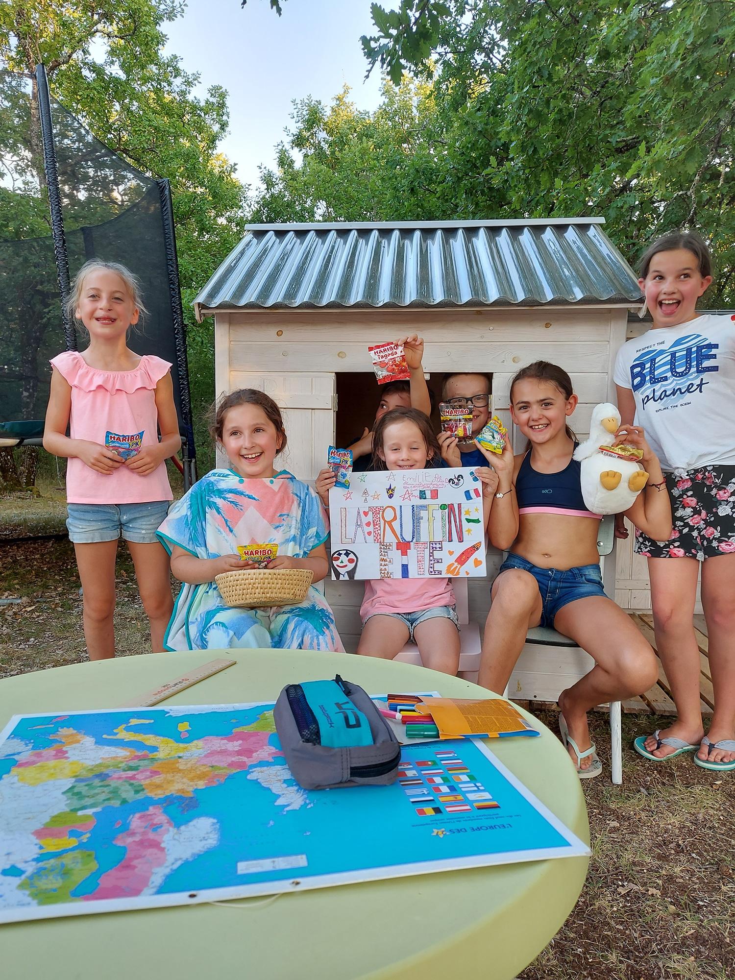 La truffière village de gîtes : jeux enfants